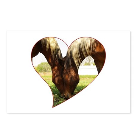 Horse Love Postcards (Package of 8)