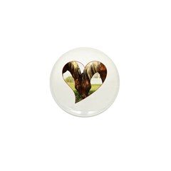 Horse Love Mini Button (10 pack)