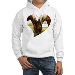 Horse Love Hooded Sweatshirt