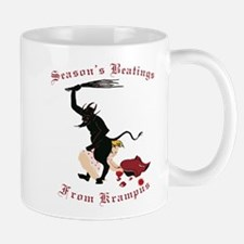 Season's Beatings from Krampus Mugs