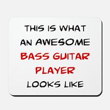 awesome bass guitar Mousepad