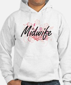 Midwife Artistic Job Design with Hoodie