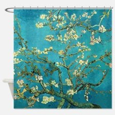 Vincent Van Gogh Blossoming Almond Shower Curtain
