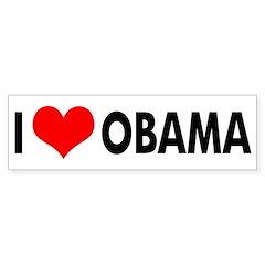 I Heart Obama (bumper sticker)
