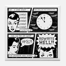 Rewrite Hell Writer's Tile Coaster