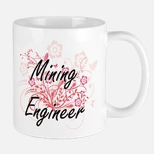 Mining Engineer Artistic Job Design with Flow Mugs