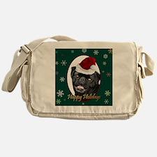Funny Puggle Messenger Bag