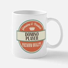 domino player vintage logo Mug