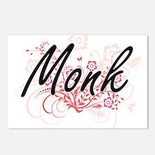 Monk Artistic Job Design Postcards (Package of 8)