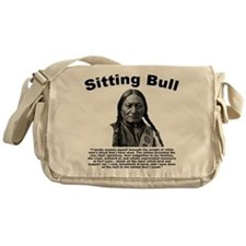 Sitting Bull: Tomahawk Messenger Bag