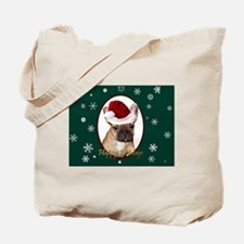 Cute Dog christmas Tote Bag