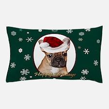 Christmas French Bulldog Pillow Case