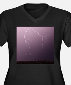Lightning Hunting Plus Size T-Shirt
