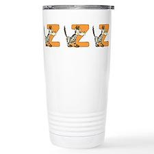Zebras Stainless Steel Travel Mug