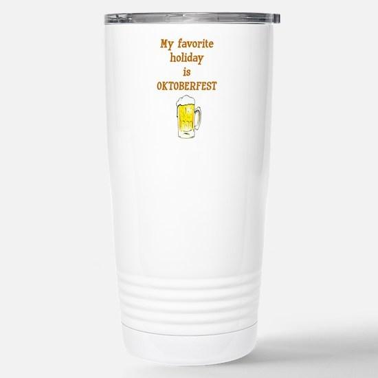 Oktoberfest Travel Mug