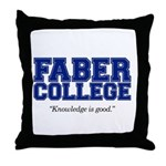 FABER COLLEGE - Throw Pillow
