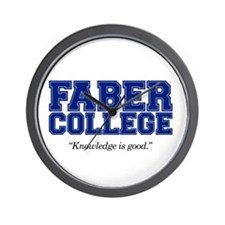 FABER COLLEGE - Wall Clock