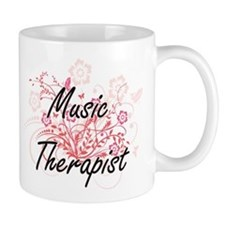 Music Therapist Artistic Job Design with Flow Mugs