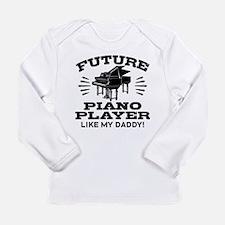 Future Piano Player Lik Long Sleeve Infant T-Shirt