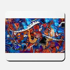 Piano Music Guitar Sax Musicial instrume Mousepad