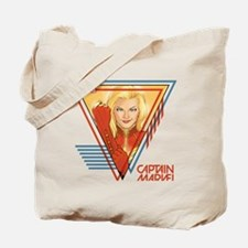 Captain Marvel Triangle Tote Bag