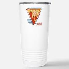 Captain Marvel Triangle Travel Mug