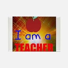 I am a Teacher Magnets