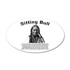 Sitting Bull: Redman Wall Decal