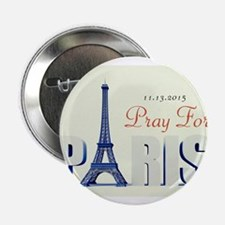 "Pray For Paris 2.25"" Button (10 pack)"