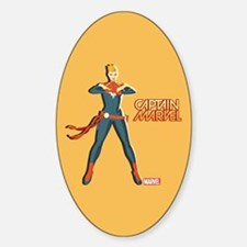 Captain Marvel Standing Decal