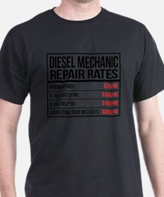 Unique Diesel mechanic T-Shirt