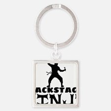 Cool Stage manager Square Keychain
