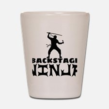 Theater manager Shot Glass