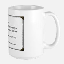 (Never - Churchill - A) Large Mug