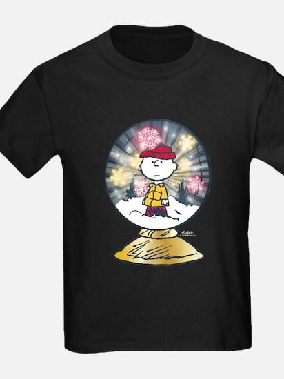 Charlie Brown - Snow Globe T