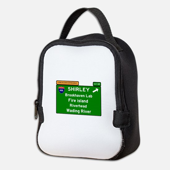 496 - LONG ISLAND EXPRESSWAY - Neoprene Lunch Bag
