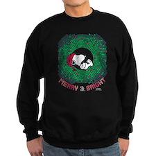 Peanuts Snoopy Merry and Bright Sweatshirt (dark)
