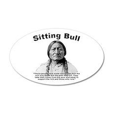 Sitting Bull: Oligarchy Wall Decal
