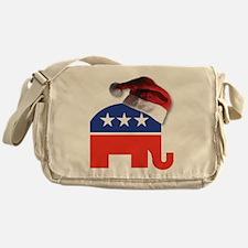 Christmas Republican Messenger Bag
