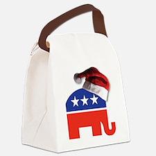 Christmas Republican Canvas Lunch Bag