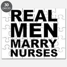 Real Men Marry Nurses Puzzle
