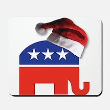 Christmas Republican Mousepad