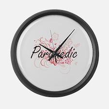 Paramedic Artistic Job Design wit Large Wall Clock