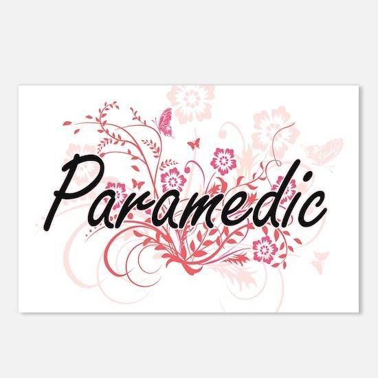Paramedic Artistic Job De Postcards (Package of 8)