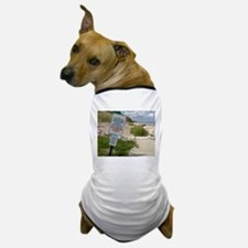 A scenic beach in Ozaukee County, Wisc Dog T-Shirt