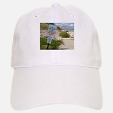 A scenic beach in Ozaukee County, Wisconsin Baseball Baseball Cap