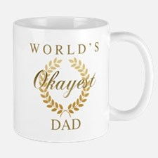 World's Okayest Dad Mugs