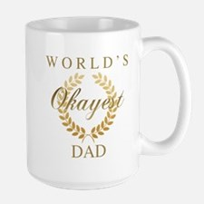 World's Okayest Dad Mugs