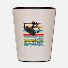 Cool Skateboarding Shot Glass