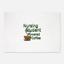 coffee nursing student.jpg 5'x7'Area Rug